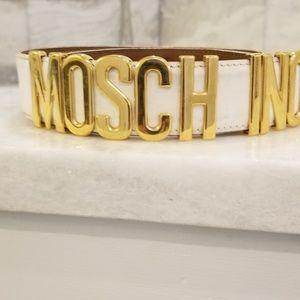 100 percent Authentic vintage Moschino belt 42